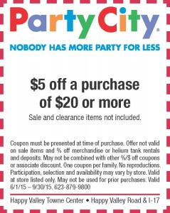 Happy Valley Towne Center | Party City