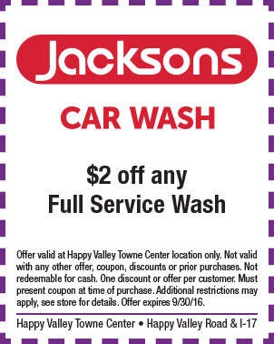 Happy Valley Towne Center Jacksons Car Wash