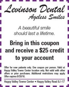 Levinson Dental Ageless Smiles